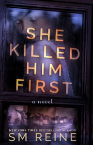 The book cover for She Killed Him First